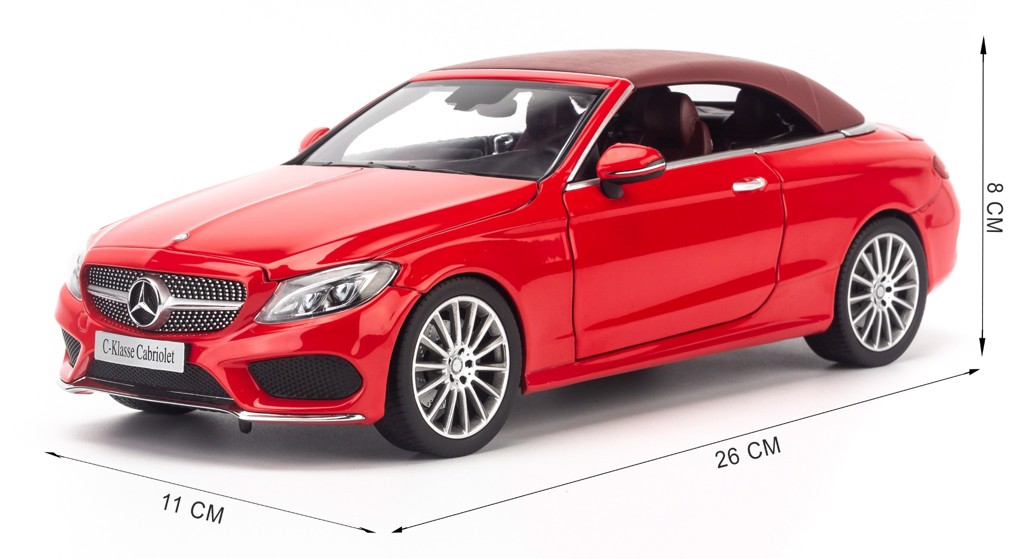 Mô hình xe Mercedes-Benz C250 Cabriolet 1:18 Iscale