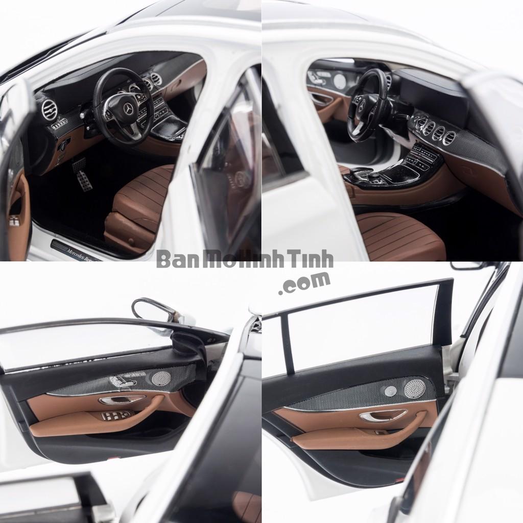 Mô hình xe Mercedes-Benz E300 T-Modell White 1:18 Iscale