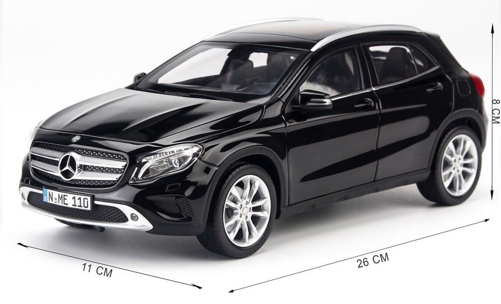 Mô hình xe Mercedes-Benz GLA Black 1:18 Norev