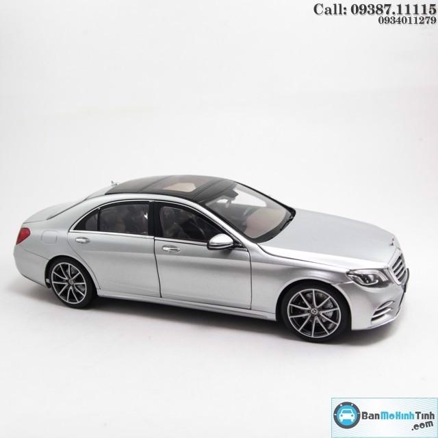 Mô hình xe Mercedes-Benz S560L 2018 1:18 Norev