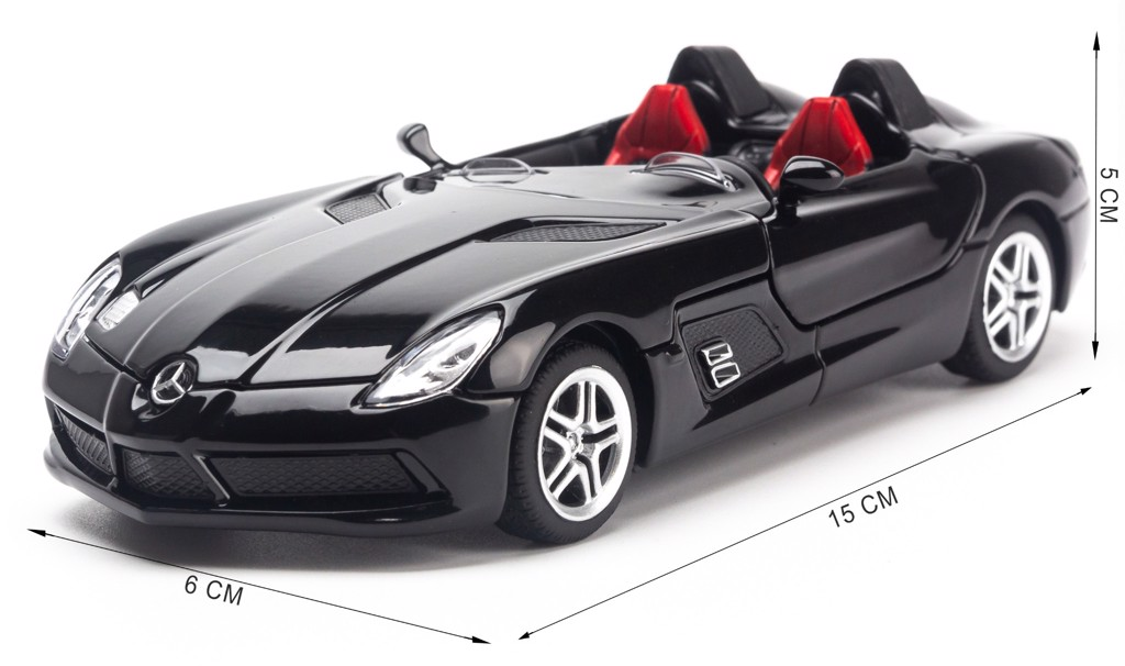 Mô hình xe Mercedes-Benz SLR Stirling Moss 1:32 TYmodels