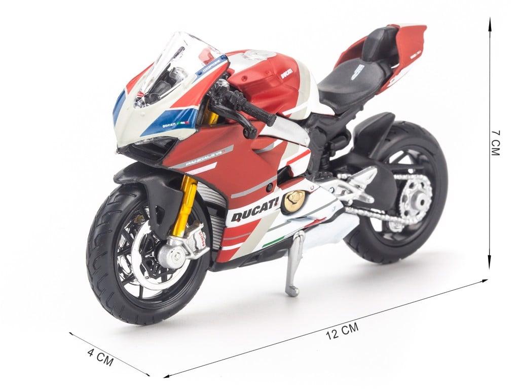 Mô hình xe mô tô Ducati Panigate V4 S Corse 1:18 Maisto