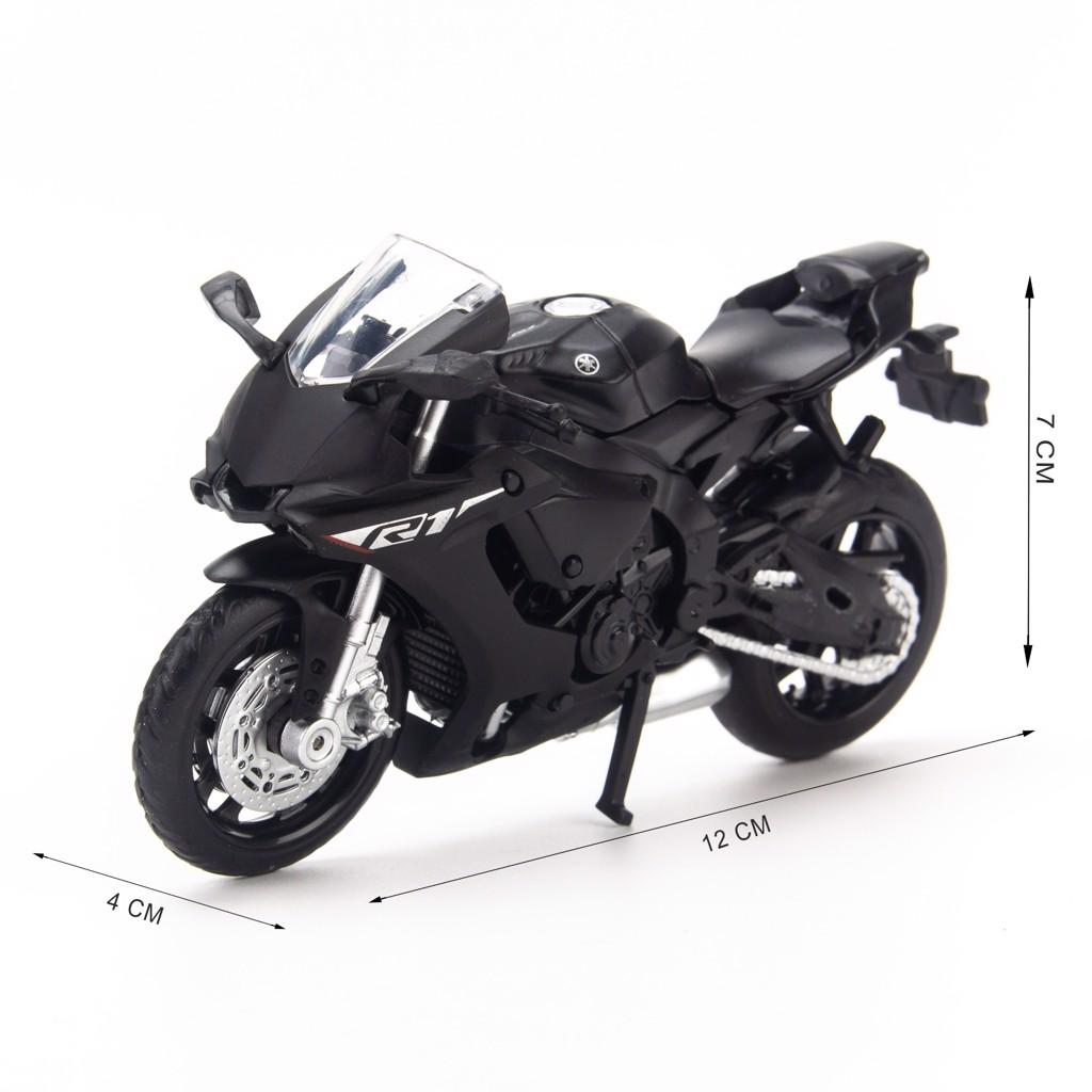 Mô hình xe mô tô Yamaha YZF-R1 2018 1:18 Caipo