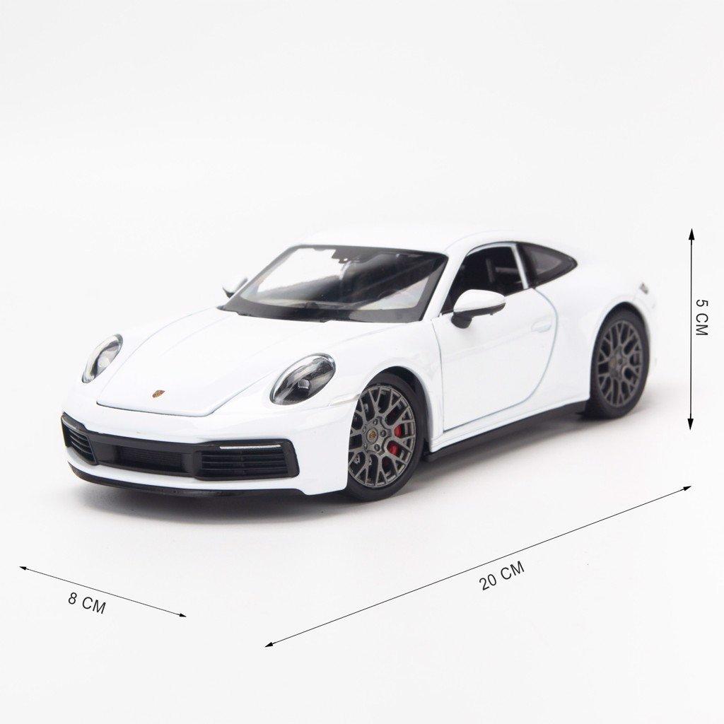 Mô hình xe Porsche 911 Carrera 4S (992) 1:24 Welly