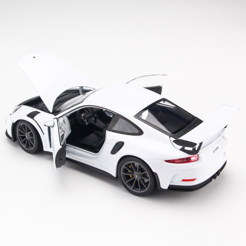 Mô hình xe Porsche 911 GT3 RS White 1:24 Welly