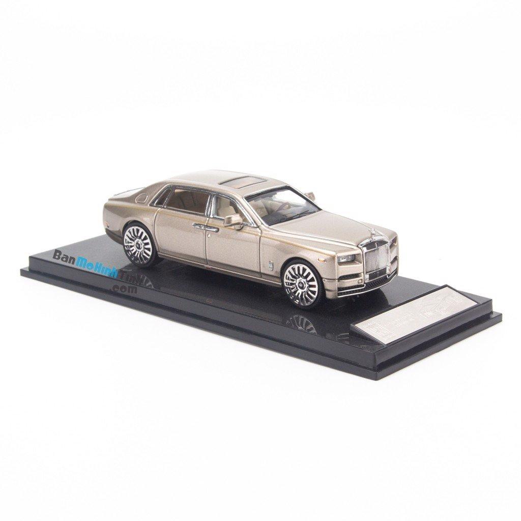 Mô hình xe Rolls Royce Phantom VIII 1:64 Original Gold