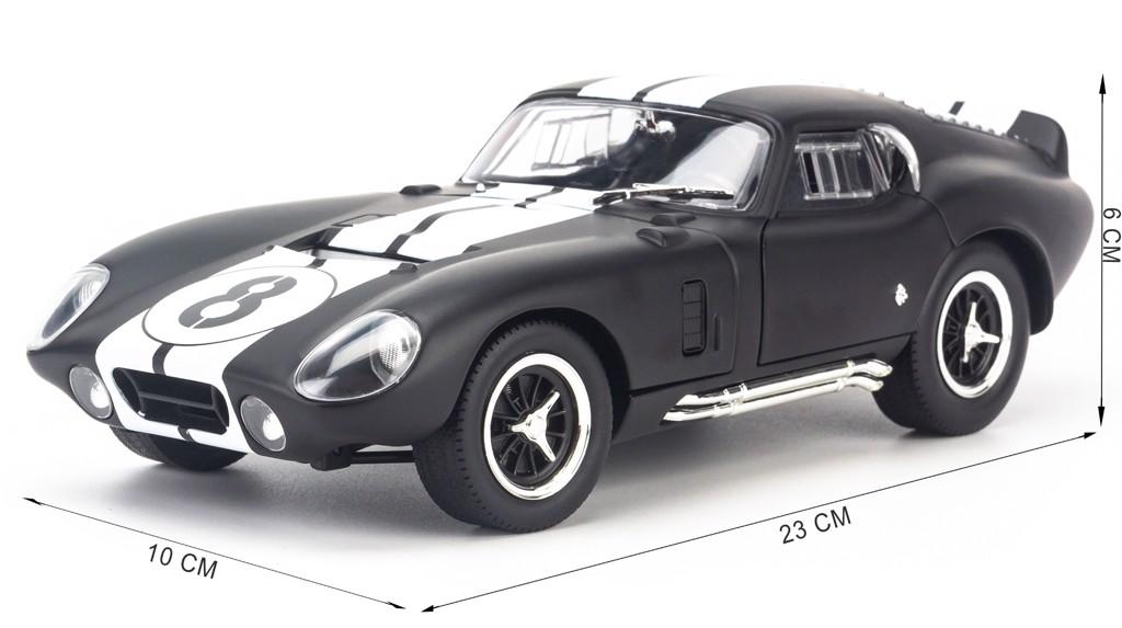 Mô hình xe Shelby Cobra Daytona Coupe No.8 1:18 Yat ming