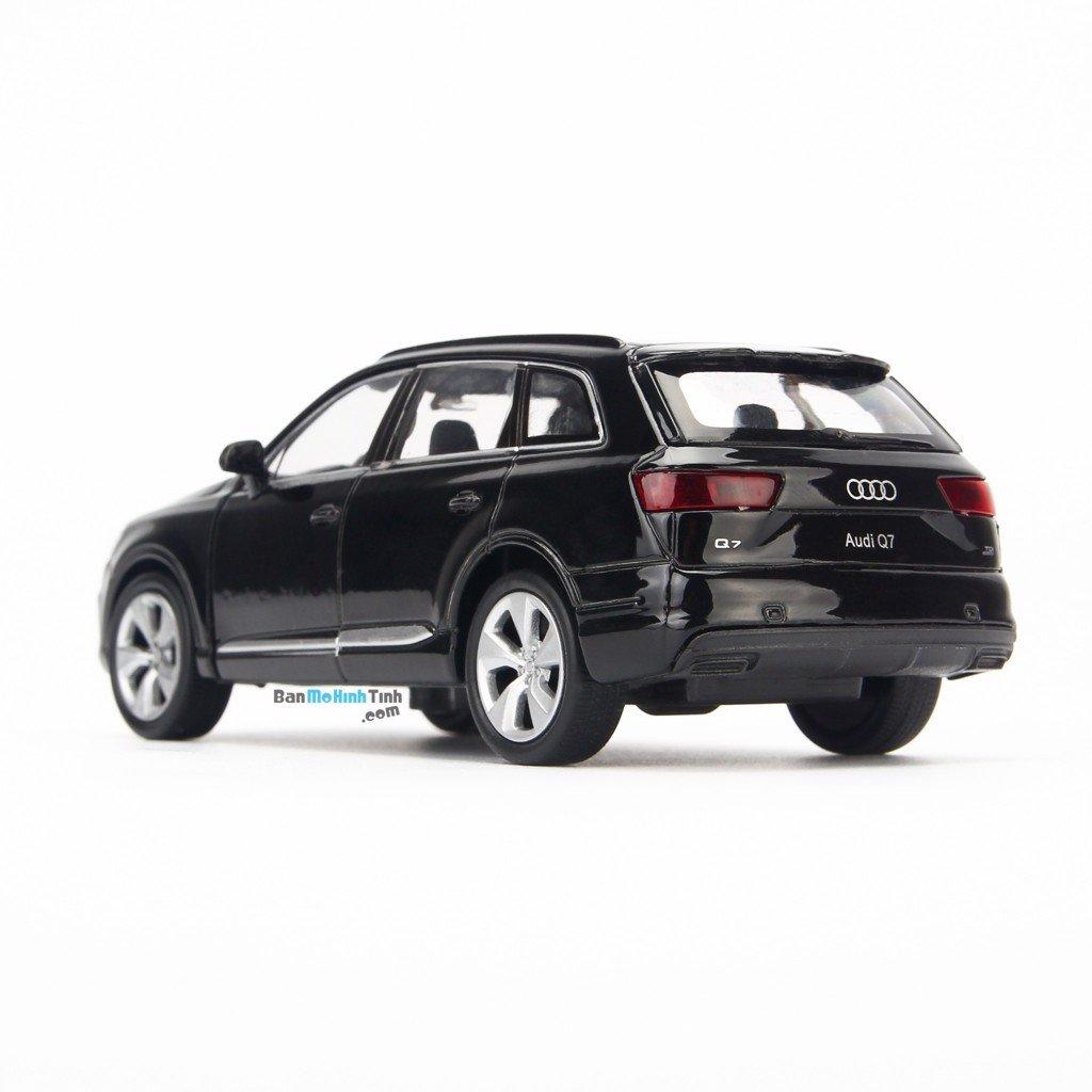 Mô hình xe suv Audi Q7 1:36 Welly Black