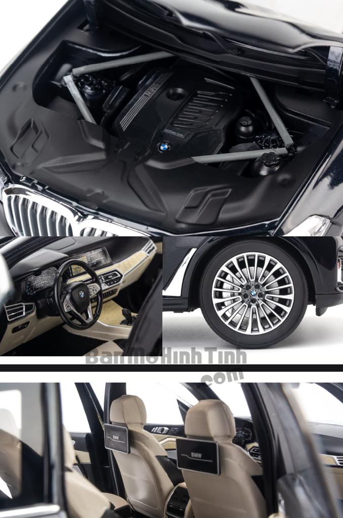 Mô hình xe suv BMW X7 G07 2019 1:18 Kyosho Black