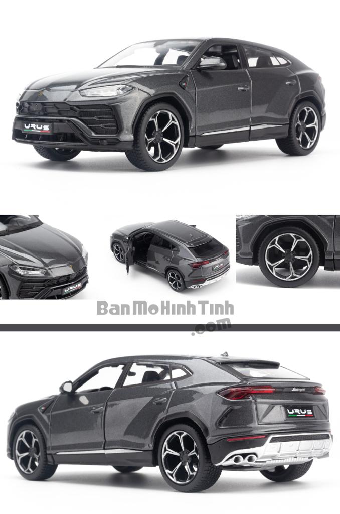 Mô hình xe Lamborghini Urus 1:24 Maisto Grey