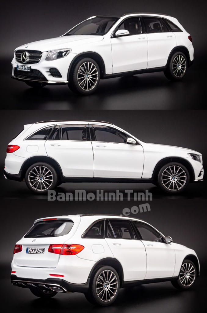 Mô hình xe Mercedes-Benz GLC200 2015 1:18 Norev