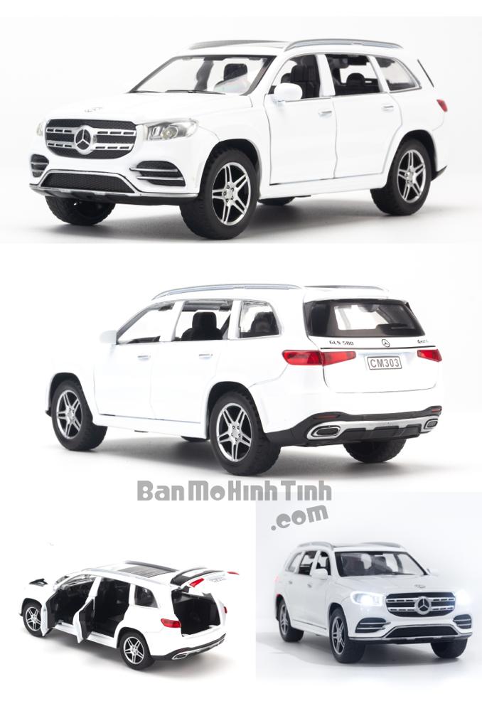 Mô hình xe Mercedes-Benz GLS580 1:32 Chimei Model White