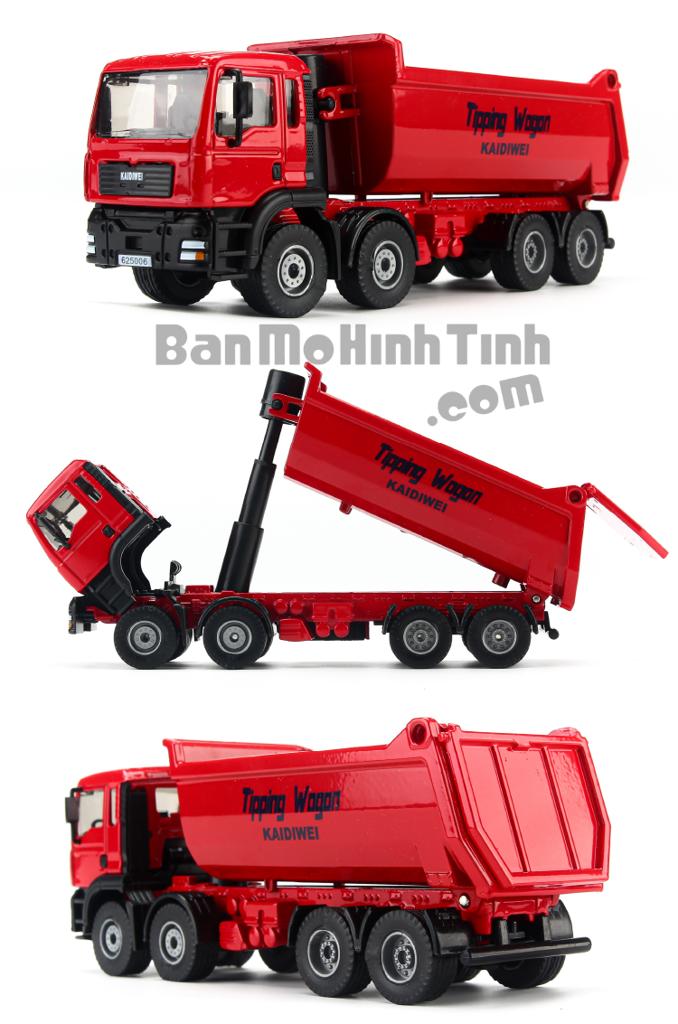 Mô hình Xe Tải Red 1:50 KDW - 620008R