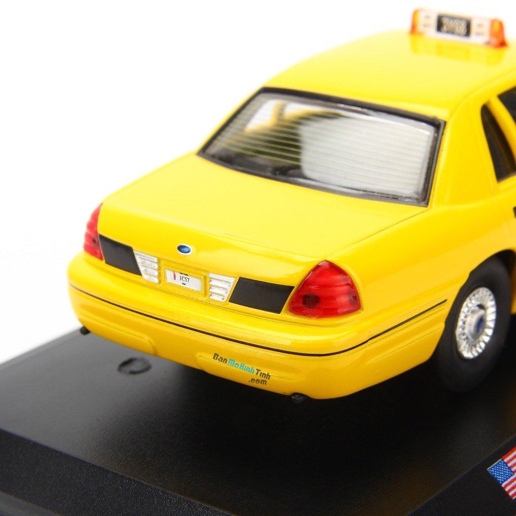 Mô hình xe Taxi Ford Crown Victoria - New York - 1992 1:43 Leo
