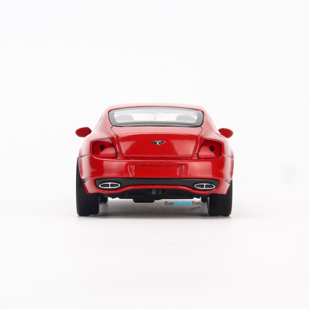 Mô hình xe thể thao Bentley Continental Supersport 1:36 Welly Red