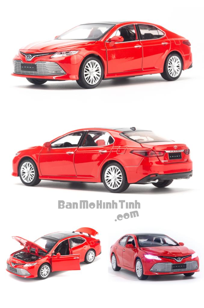 Mô hình xe Toyota Camry 2019 1:32 Caipo Red