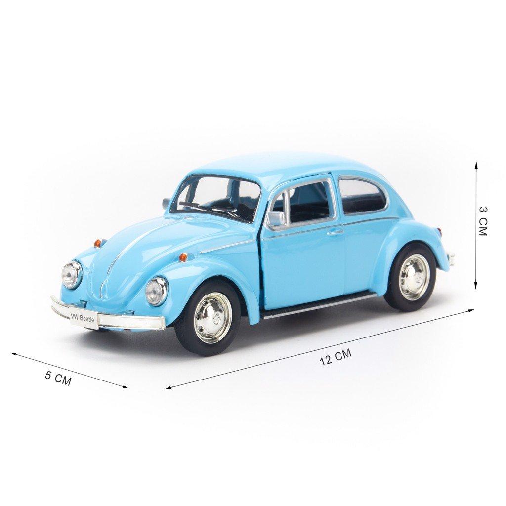 Mô hình xe Volkswagen Beetle 1976 1:36 UNI blue