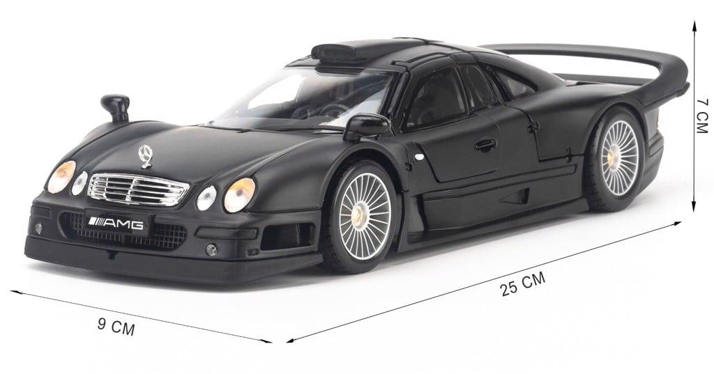 Mô hình xe Mercedes-Benz CLK-GTR Street Version 1:18 Maisto