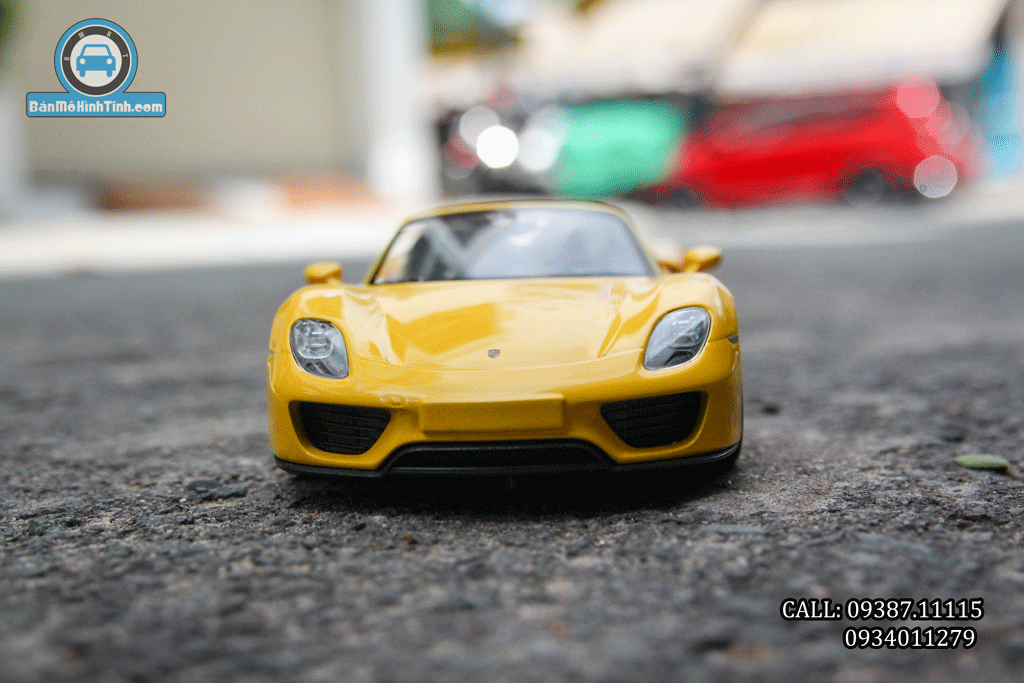 Mô hình xe Porsche 918 Spyder 1:24 Welly