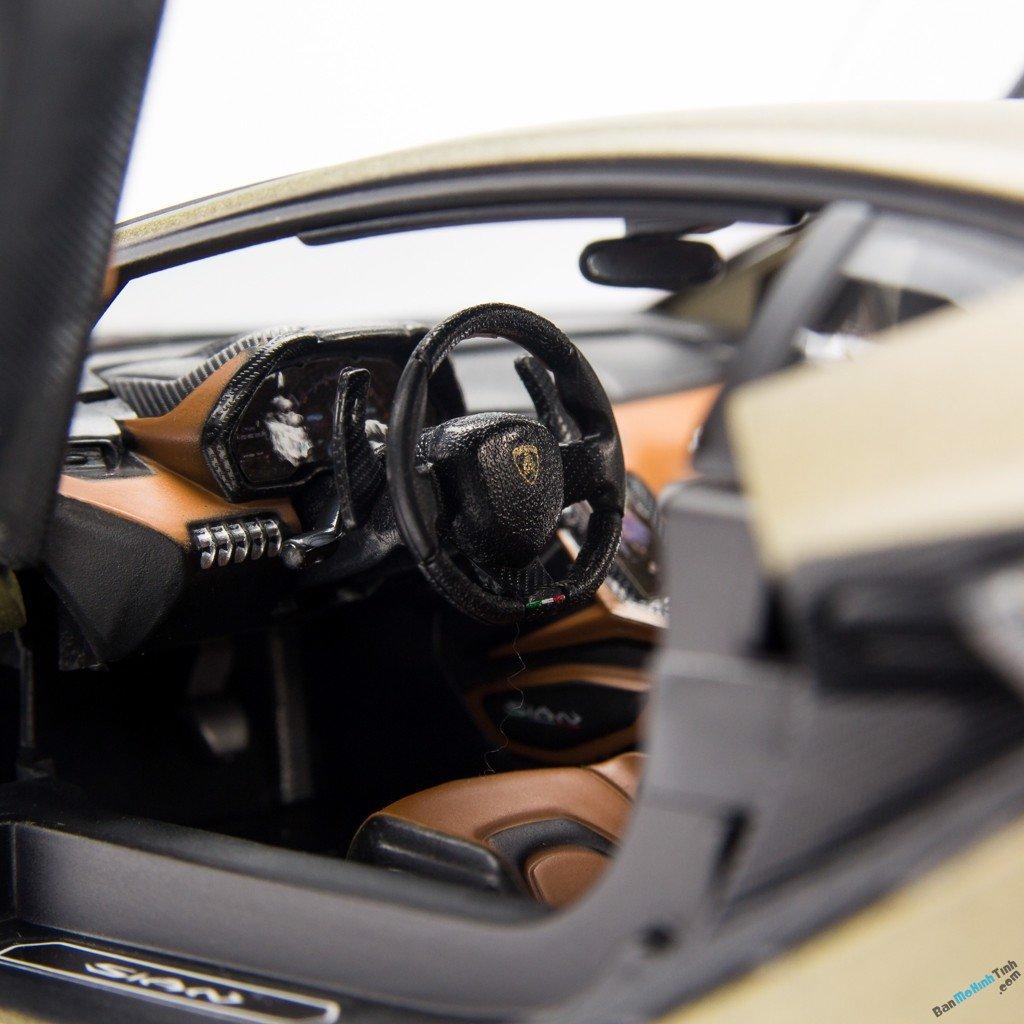 Mô hình xe Lamborghini Sian FK37 1:18 Bburago