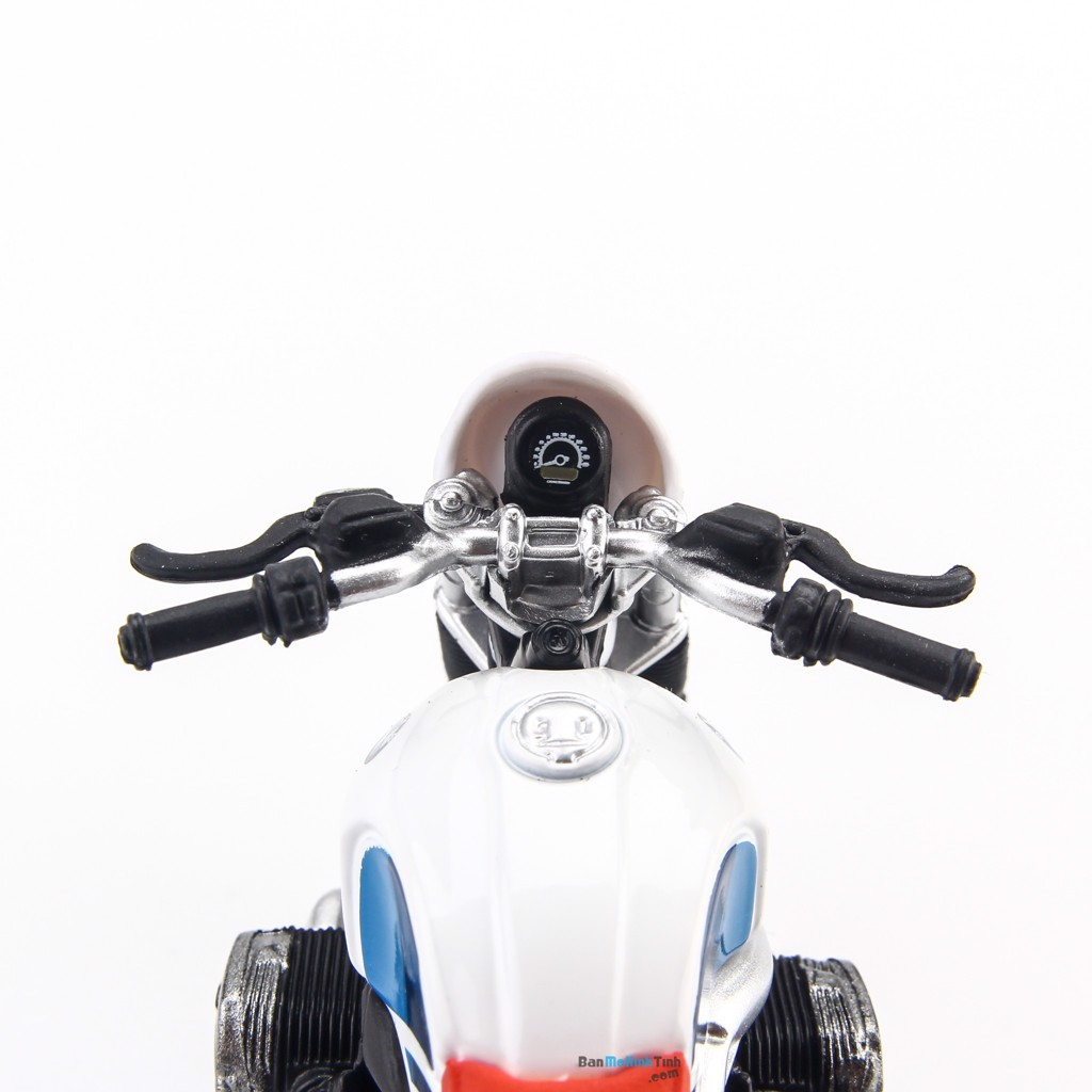 Mô hình mô tô BMW R Nine T Urban GS White 1:18 Bburago - MH 18-51069