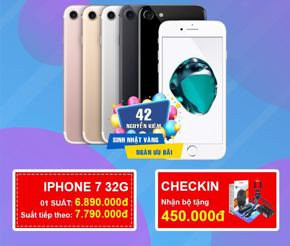 iPhone 7 giảm ngay 1tr