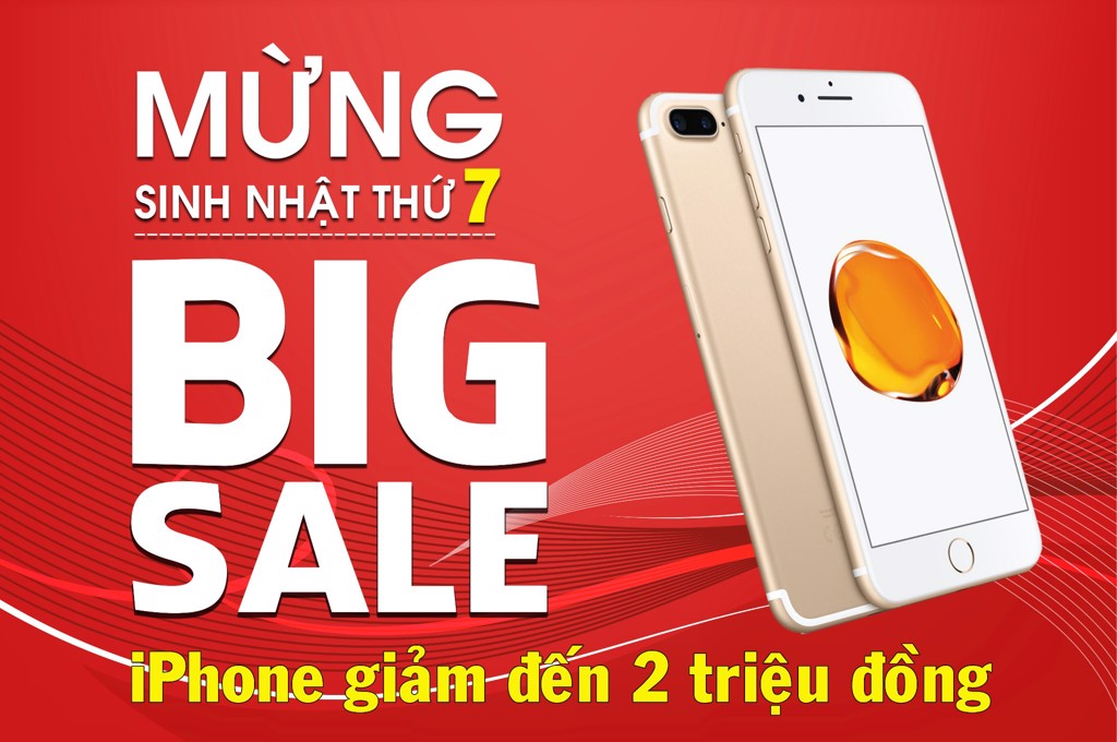 big sales iphone gảm 2 tr