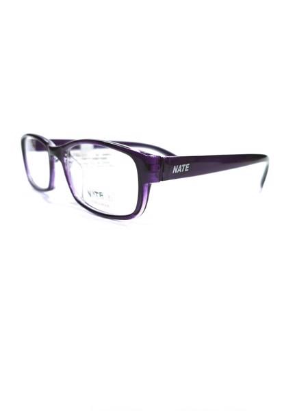 Gọng kính cận Unisex Nate 3007-C6 phù hợp với nhiều set đồ khác nhau