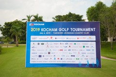 ATT Logistics sponsors the KOCHAM 2019 golf tournament in Dong Nai province