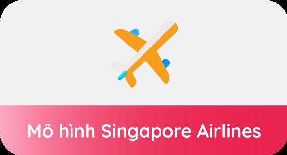 mô hình Singapore Airlines
