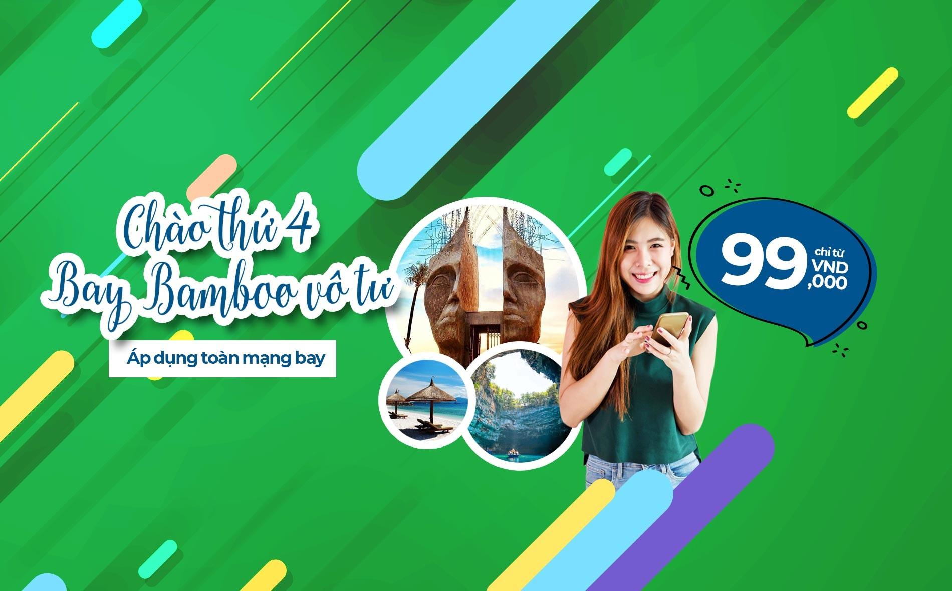 vé máy bay giá rẻ Bamboo Airways