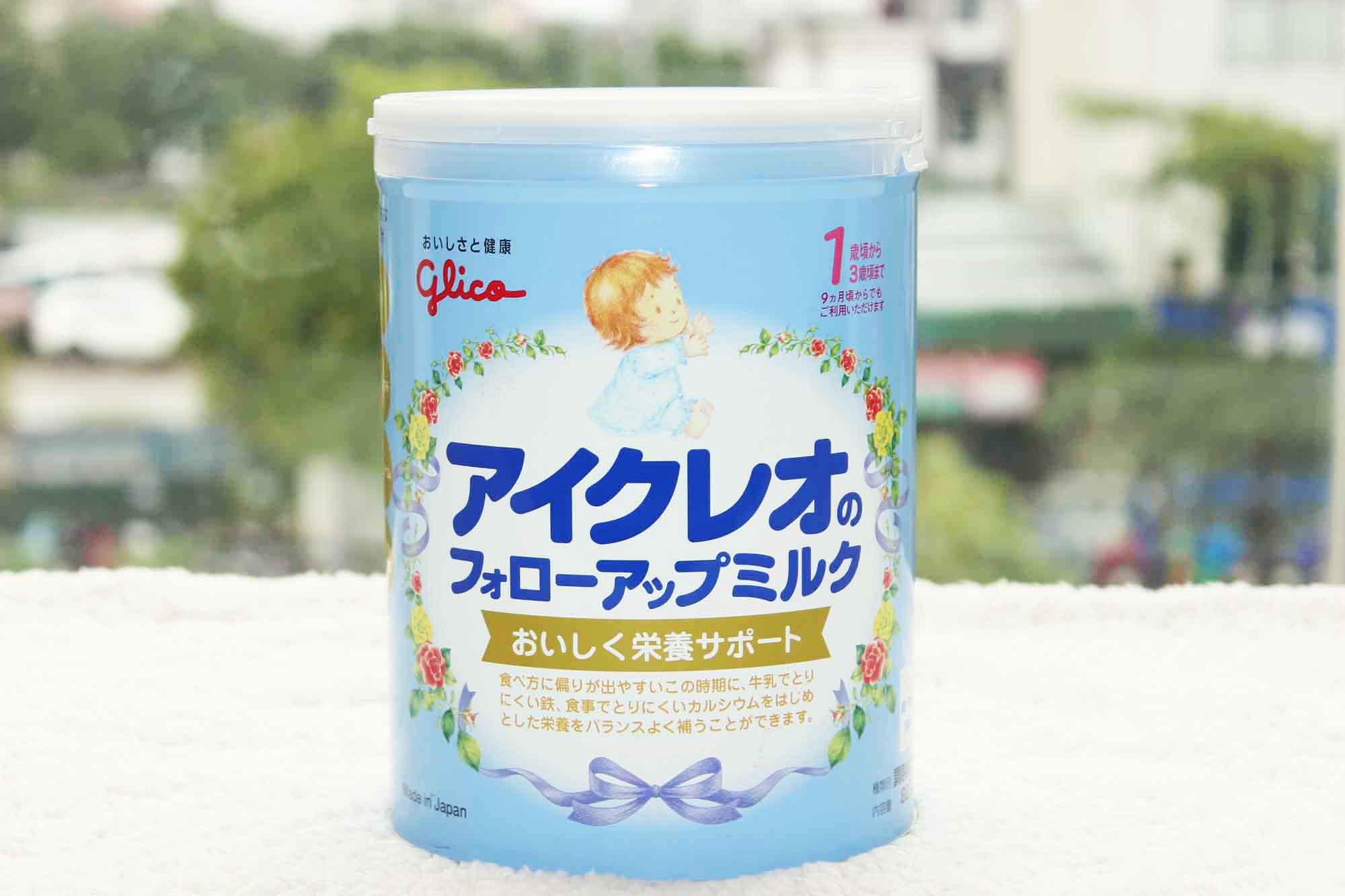 Sữa Glico có tốt không thành phần nào khác biệt nhất của sữa ?