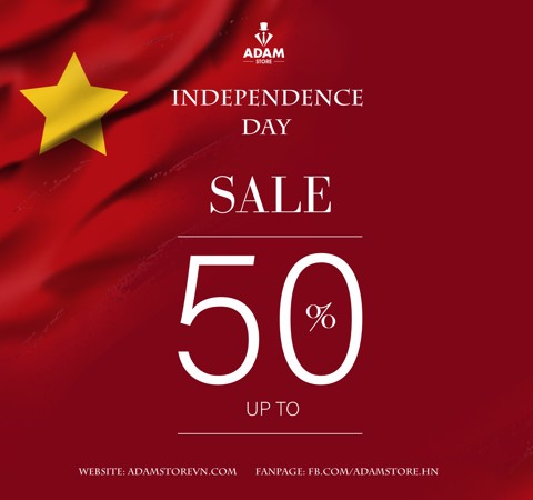 INDEPENDENCE DAY - SALE UP TO 50%