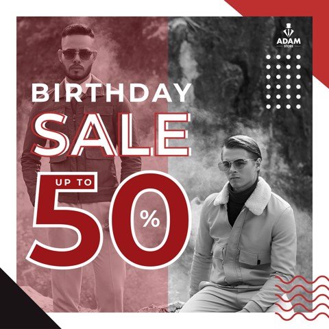 BIRTHDAY SALE - SĂN SALE BÙNG NỔ UP TO 50%