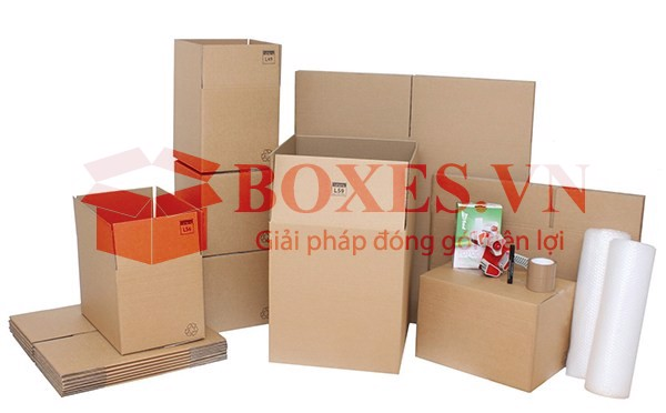 Thùng carton hàng gia dụng có sẵn tại Boxes