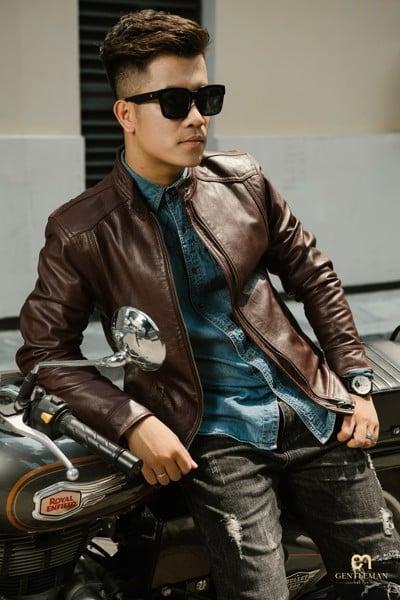 Áo khoác da dành cho nam có gì mà được ưa chuộng như vậy 2