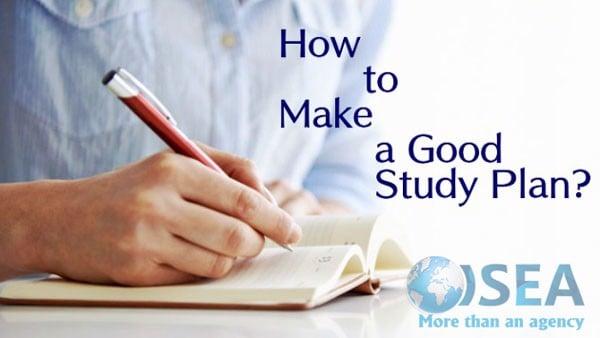 cách viết study plan