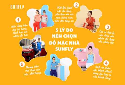 5 lý do bạn nên chọn đồ mặc nhà cao cấp sunfly