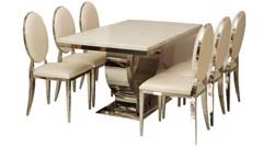Hai thiết kế độc đáo của bàn ăn mặt đá cẩm thạch