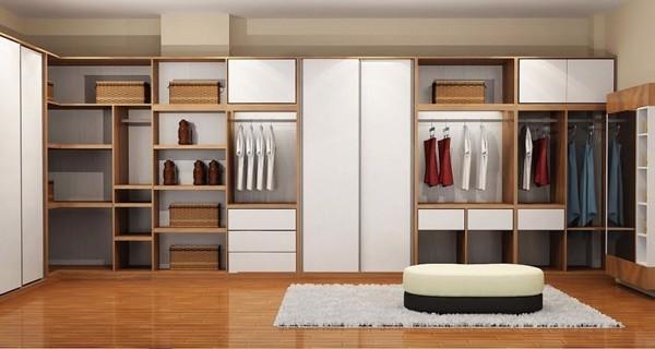 Nên chọn tủ quần áo phòng ngủ làm bằng gỗ tự nhiên hay gỗ công nghiệp?