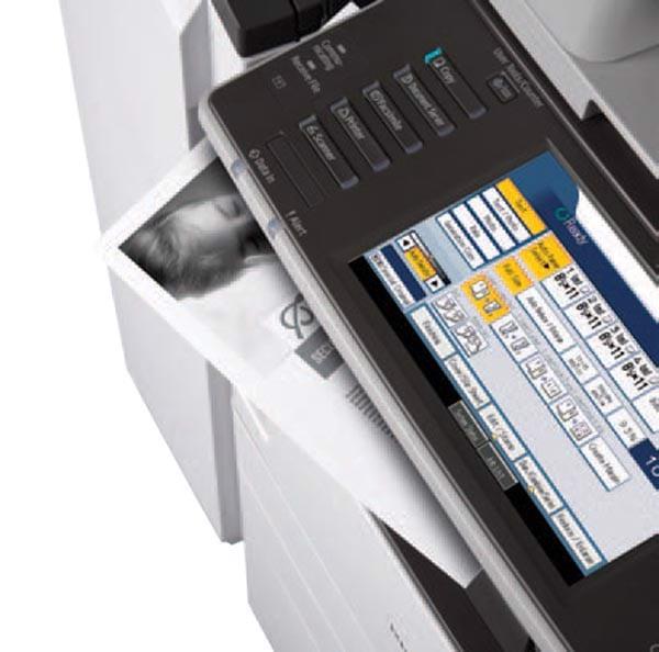 Scan chứng minh nhân dân trên máy Photocopy Ricoh