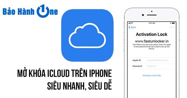 Cách mở khóa iCloud trên iPhone an toàn trong một nốt nhạc