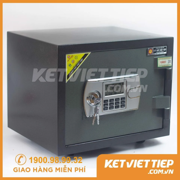 giá két sắt mini điện tử chống cháy KVT32