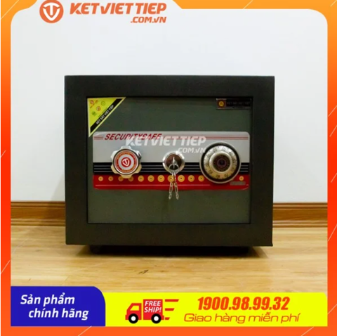 két sắt mini Việt Tiệp K32N khóa cơ chống cháy