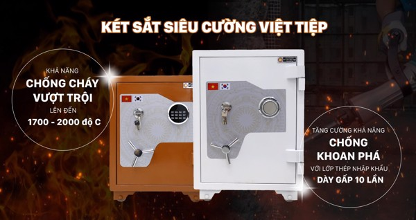 chọn két sắt điện tử hay két sắt khoá cơ