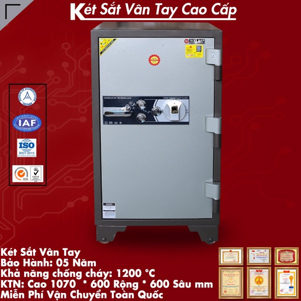 Két sắt Việt Tiệp KVT200 vân tay