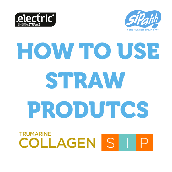 How to use straw products