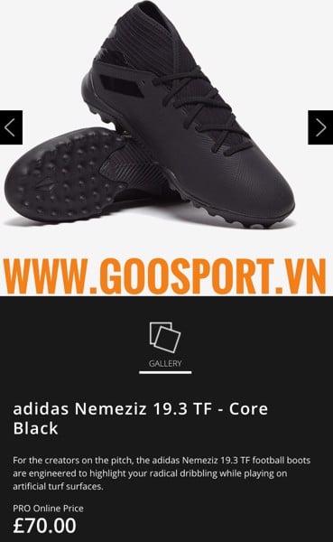 giày đá bóng nemeziz giá rẻ