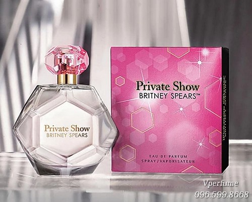 Thiết kế chai nước hoa Britney Spears Private Show EDP