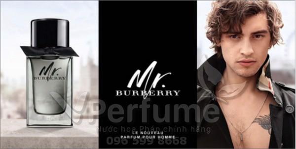 Nuoc hoa nam Burberry Mr Burberry EDP